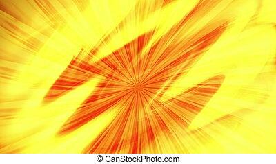 Sun rays - Animation