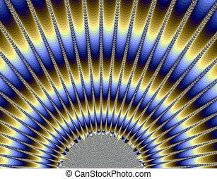 Sun Rays - Fractal generation of sun rays