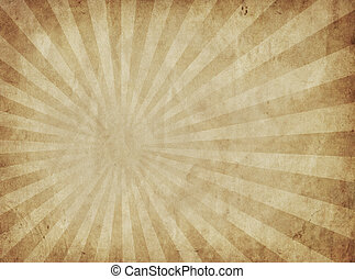 great image of sun rays on old parchment paper