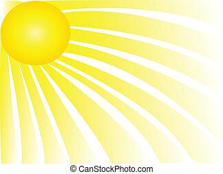 Sun Rays - Sun rays shiny