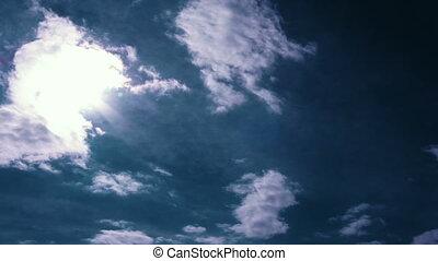 sun rays time lapse t1225