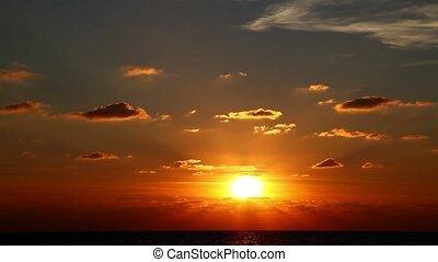 Sun Rise Sunrise Time Lapse
