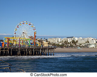Santa Monica California - Sun, sea, sand, and fun in Santa ...
