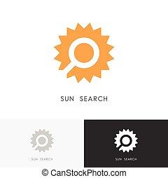 Sun search logo