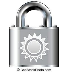 Sun secure lock