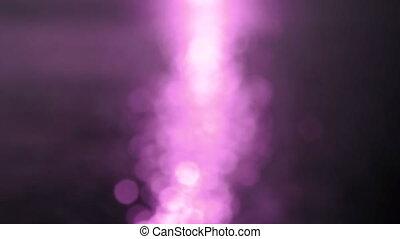 sun set pink flare