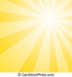 Sun Shine Burst - Yellow background bright and upbeat yellow...