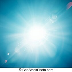 Sun Shine - Sun shine, abstract background. Illustration ...