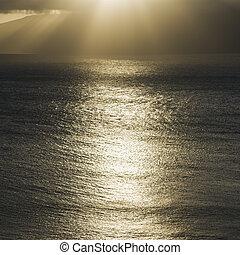 Pacific ocean.