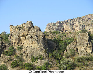 Rock-scapes in Andalusia