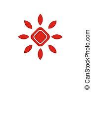 sun sign symbol