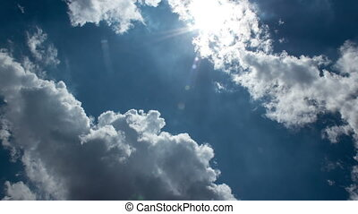 Sun, Sky and Clouds Time Lapse 2