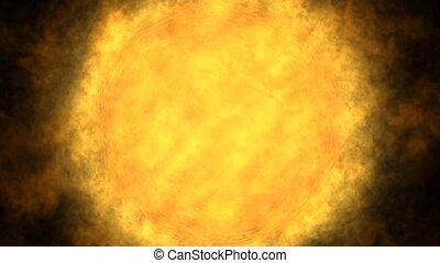 Sun, solar flare, global warming