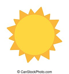 Sun summer symbol