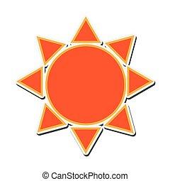 sun sunny abstract design