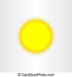 sun sunshine background vector illustration design