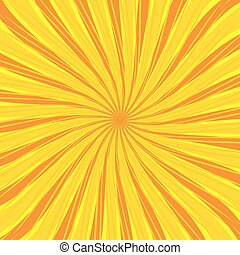 Sun theme abstract background