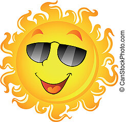 Sun theme image 2 - vector illustration.