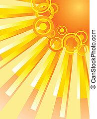 Sun. [Vector]