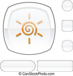 Sun white button.