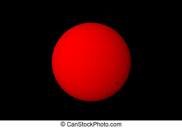 Sun with Sun spots