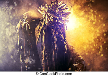 sun worship - Metaphorical idea of the sun. Folklore....