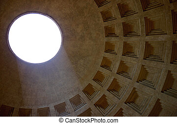 Sunbeam in the Pantheon