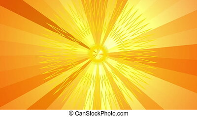 sunbeam motion warm rays background