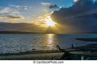 Sunbeams And Clouds 3