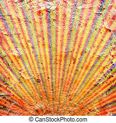 Sunbeams grunge background