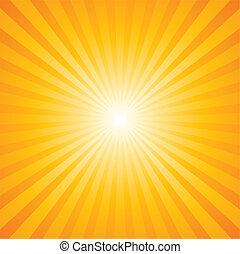 sunburst, パターン