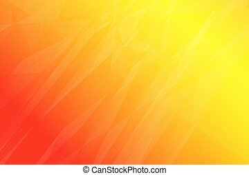 An Abstract Composition Suggests a Brilliant Burst of Sunshine.