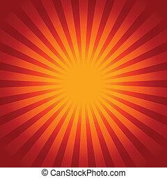 Sunburst background - Glow Sunburst background
