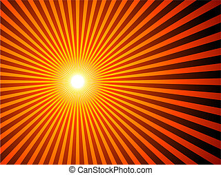 sunburst background  - Sunburst background