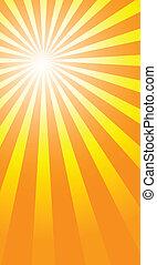 sunburst backgrounds - sunburst background to illustrate the...