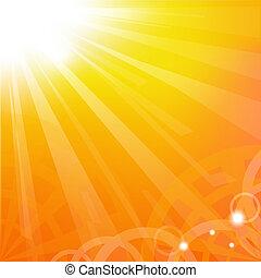Sunburst, Vector Illustration
