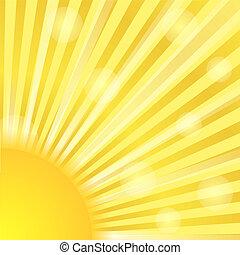 Sunburst, vector eps10 illustration
