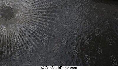 sunburst digital background - abstract digital background...