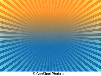Sunburst Effect Background