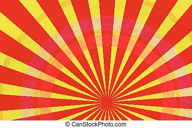 Sunburst Pattern. Radial background. Comic book