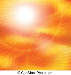 sunburst, raios, de, luz solar, tenplate