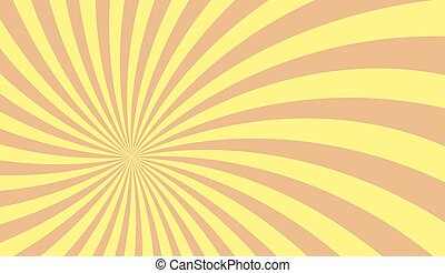 Sunburst retro vector illustration