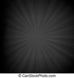 sunburst, svart, struktur