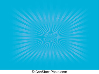 Sunburst - Vector Image
