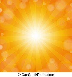 Sunburst Yellow Background