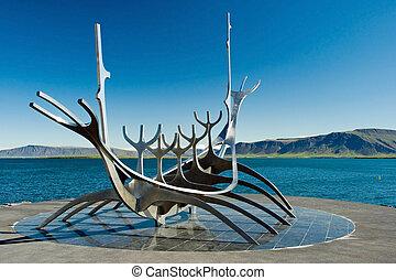 suncraft, solfar, reykjavik
