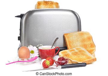 Sunday brunch - breakfast on a sunday morning with egg, ...