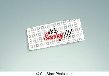 sunday!, esso