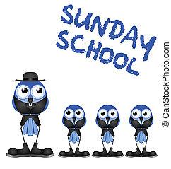 sunday skola