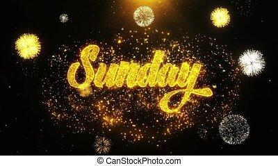 Sunday Wishes Greetings card, Invitation, Celebration...